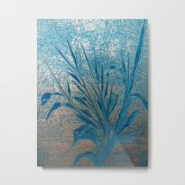 Silverblue (self-painted) by Nico Bielow Metal Print