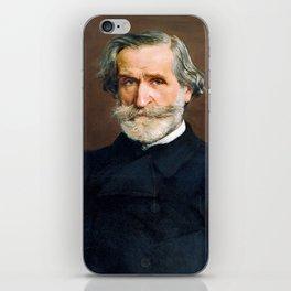 Giuseppe Verdi (1813 – 1901) by Giovanni Boldini (1842 - 1931) iPhone Skin