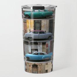 Cuba Cars - Vertical Travel Mug