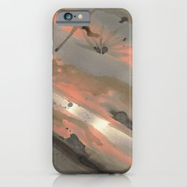 Wash Me Away Ink iPhone Case