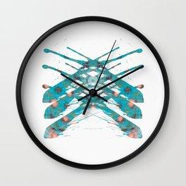 Inkdala IX (Rorschach) Wall Clock