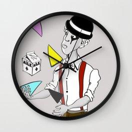 Alex DeLarge InQuadri Wall Clock