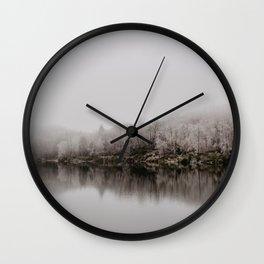 Trout Lake Wall Clock