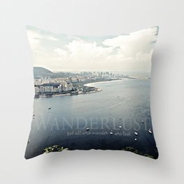 Wanderlust {Rio Throw Pillow