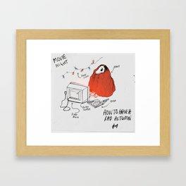 AUTUMN #1 - colour Framed Art Print