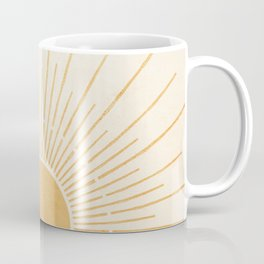 Sun #5 Yellow Coffee Mug