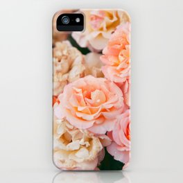 Light Pink Roses iPhone Case