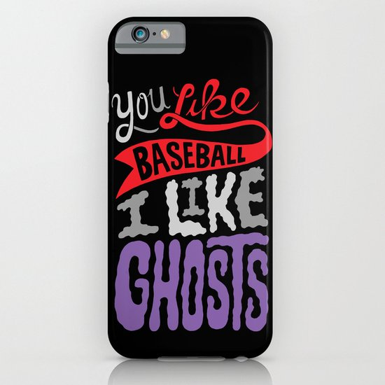 Baseball, Ghosts iPhone & iPod Case
