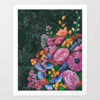 Back Away, I've Got a Bouquet! Art Print