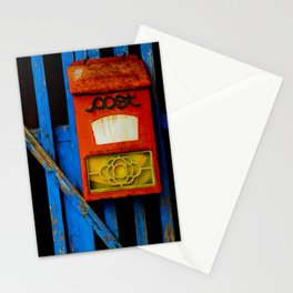 Post in Red, White and Blue Stationery Cards