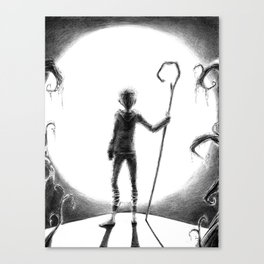 Jack Frost (Rise of the Guardians) Canvas Print