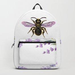 Lavender Bee Backpack