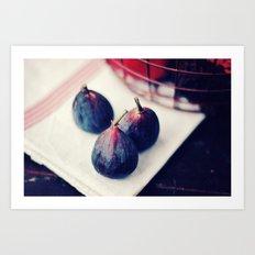 Three Figs Art Print