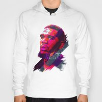 greg guillemin Hoodies featuring GREG ODEN MIAMI HEAT by mergedvisible