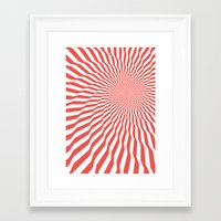 vertigo Framed Art Prints featuring Vertigo by Simon C Page