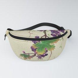 Minhwa : Grapevine Type B (Korean traditional/folk art) Fanny Pack
