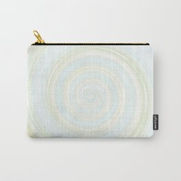 Re-Created Spin Painting No. 12 by Robert S. Lee Carry-All Pouch