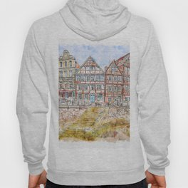 Waters Architecture Travel Hoody