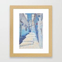 Mediterranean journey-Morocco Framed Art Print