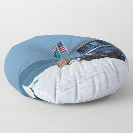 Siesta Key Lifeguard Station Floor Pillow