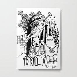 To Kill a Mockingbird (Bold) Metal Print