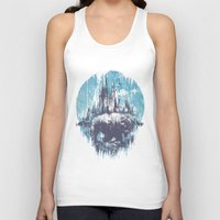 wanderlust Tank Tops featuring Wanderlust by Robson Borges