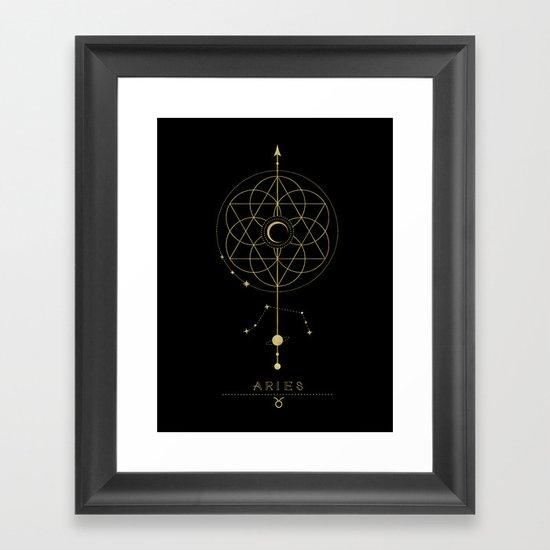Aries Zodiac Constellation by cafelab