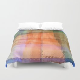 Abstract Window View Duvet Cover