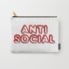 Anti Social Carry-All Pouch