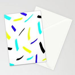 Lines cold design Stationery Cards