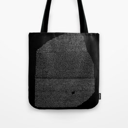 Pierre de Rosette  / Rosetta Stone Tote Bag