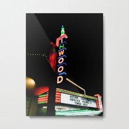 Inwood Theatre Metal Print