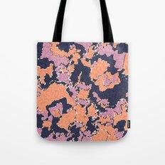 Cartografía de Orquídea (on blue) Tote Bag