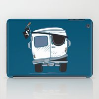 booty iPad Cases featuring The Booty Wagon by Brandon Ortwein