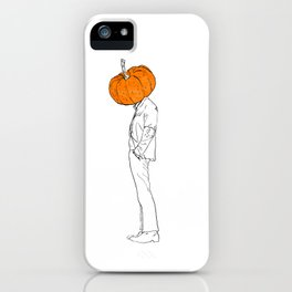 Halloween Head iPhone Case
