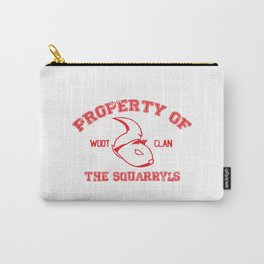Property of The Squarryls Carry-All Pouch