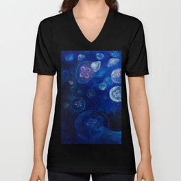 It's Jellyfishing Outside Tonight Unisex V-Neck