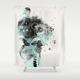 'The birds are not what they seem' Shower Curtain