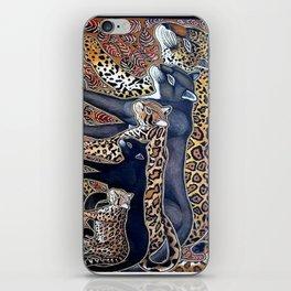 Big cats of Costa Rica iPhone Skin