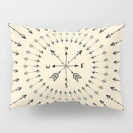 Arrow Compass Pillow Sham