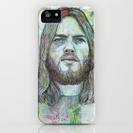 David Gilmour - Is There Anybody Out There iPhone Case