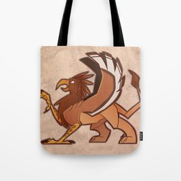 150106 Stylized Gryphon Tote Bag