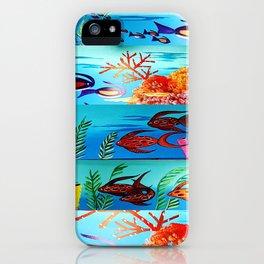 Beautiful Sea Life iPhone Case