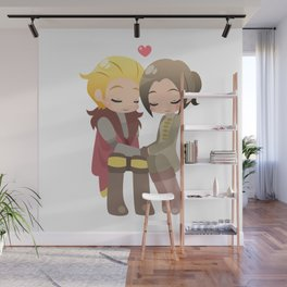 Dragon Age - Cullen and Inquisitor [Commission] Wall Mural