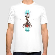 Spiders from Mars  Mens Fitted Tee White MEDIUM
