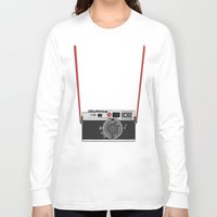 camera Long Sleeve T-shirts featuring Camera by Illustrated by Jenny