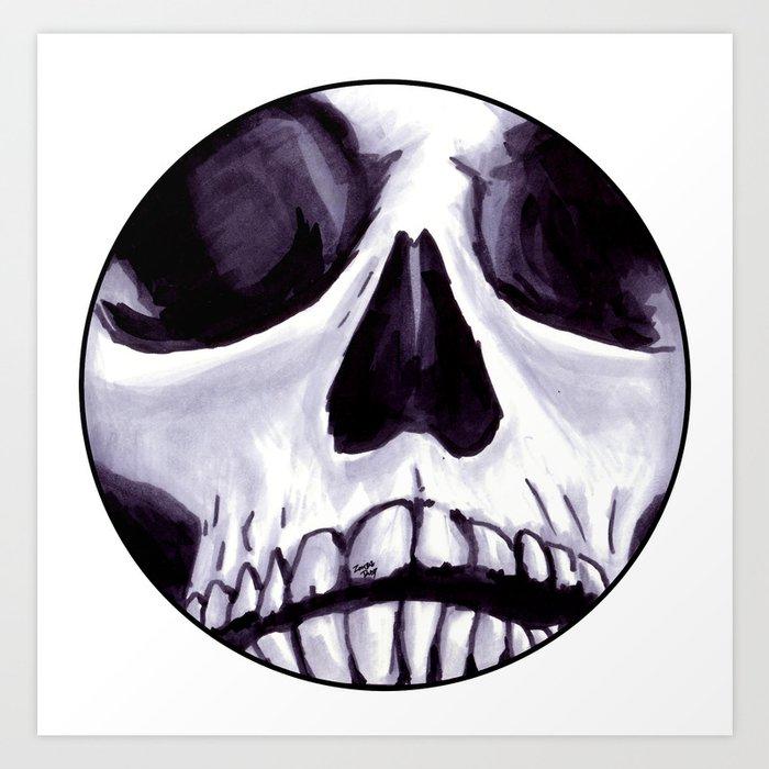 Bones IV Art Print