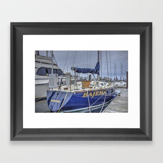 Bajema- Newport, Rhode Island Framed Art Print