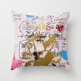 My Neighborhood Throw Pillow