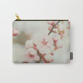 Pink Pastel Blossoms Carry-All Pouch